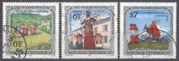 """AUSTRIA - OSTERREICH - Lotto Composto Da 3 Francobolli Usati Del Tipo """"Usi E Costumi Popolari"""": Yvert2081, 2086, 2103. - 1991-00 Usati"""