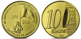 Angola, 100 Kwanzas, 2015, Commemorative Of 40 Years Independence, KM# 113, UNC - Angola
