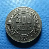 Brazil 400 Reis 1931 - Brazilië