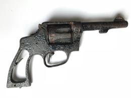 Revolver Smith And Wesson 1917 WW1 Rouillé - Armas De Colección