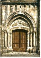 16350 CHAMPAGNE-MOUTON - Le Porche De L'Eglise - Photographie Véritable - France