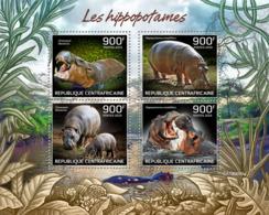 Central Africa  2019  Fauna Hippopotamus  S201909 - Central African Republic