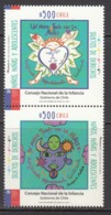 2017 Chile Children's Council  Complete  Pair MNH @  FACE VALUE - Chili
