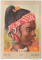 J1   AFRIQUE   8/124  .FEMME  TOUCOULEUR   HAUTE VOLTA  *** ETHNOGRAPHIE  ETHNOLOGIE étude Au Dos ( 5x7 Cm) - Vieux Papiers