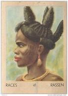 J1   AFRIQUE  .9/41  .FEMME  M'BOUM  CONGO FRANCAIS  *** ETHNOGRAPHIE  ETHNOLOGIE étude Au Dos ( 5x7 Cm) - Vieux Papiers