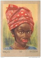 J1   AFRIQUE  .10/139   .FEMME   MOSSI  SOUDAN  *** ETHNOGRAPHIE  ETHNOLOGIE étude Au Dos ( 5x7 Cm) - Vieux Papiers