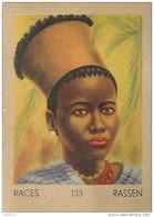 J1   AFRIQUE  13/133  FEMME  ZOULOU  ZOULOULAND    *** ETHNOGRAPHIE  ETHNOLOGIE étude Au Dos ( 5x7 Cm) - Vieux Papiers