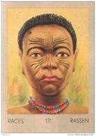 J1   AFRIQUE  15/131 .FEMME BAPOTO  CONGO BELGE  BANGALA   *** ETHNOGRAPHIE  ETHNOLOGIE étude Au Dos ( 5x7 Cm) - Vieux Papiers