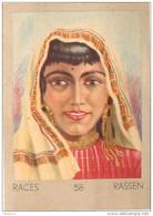 J1   AFRIQUE  16/58 .FEMME. TUNISIENNE   TUNISIE   *** ETHNOGRAPHIE  ETHNOLOGIE étude Au Dos ( 5x7 Cm) - Vieux Papiers