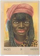 J1   AFRIQUE   21/31   TRANSVAAL  .FEMME  BAPEDI  *  RACES  ETHNOGRAPHIE  ETHNOLOGIE étude Au Dos ( 5x7 Cm) - Vieux Papiers