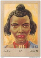 J1   AFRIQUE   22/67  .FEMME .KANIMBU  SOUDAN  *  RACES  ETHNOGRAPHIE  ETHNOLOGIE étude Au Dos ( 5x7 Cm) - Vieux Papiers