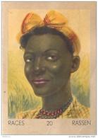 J1   AFRIQUE   25/20  .FEMME .. DU MOZAMBIQUE   *  RACES  ETHNOGRAPHIE  ETHNOLOGIE étude Au Dos ( 5x7 Cm) - Vieux Papiers