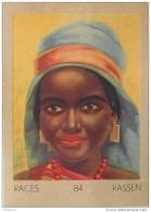 J1   AFRIQUE   27/84 .FEMME ..BOUBAT  SOMALIE  *  RACES  ETHNOGRAPHIE  ETHNOLOGIE étude Au Dos ( 5x7 Cm) - Vieux Papiers
