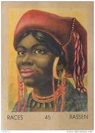J1   AFRIQUE   34/45 ...FEMME ASCARI   SOMALIE   *  RACES  ETHNOGRAPHIE  ETHNOLOGIE étude Au Dos ( 5x7 Cm) - Vieux Papiers