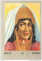 J1   AFRIQUE   35/113 ...FEMME. OULED NAIL  ALGERIE SAHARA   *  RACES  ETHNOGRAPHIE  ETHNOLOGIE étude Au Dos ( 5x7 Cm) - Vieux Papiers