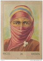 J1   AFRIQUE   36/26 ...FEMME. BERBERE  SAHARA   *  RACES  ETHNOGRAPHIE  ETHNOLOGIE étude Au Dos ( 5x7 Cm) - Vieux Papiers