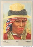 J1   AMERIQUE   SUD   46/104.  GUATEMALA  INDIEN  .ZUTUGILE ..*  RACES  ETHNOGRAPHIE  ETHNOLOGIE étude Au Dos ( 5x7 Cm) - Vieux Papiers