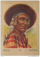 J1    GUATEMALA   54/12  .INDIEN  *  RACES  ETHNOGRAPHIE  ETHNOLOGIE étude Au Dos ( 5x7 Cm) - Vieux Papiers