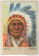 J1   .U.S.A.   58/7   INDIEN .SIOUX DAKOTA  IOWA   *  RACES  ETHNOGRAPHIE  ETHNOLOGIE étude Au Dos ( 5x7 Cm) - Vieux Papiers