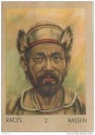 J1 . MONGOLIE   71/2  ..VIEUX MONGOL    ASIE  ** RACE  ETHNOGRAPHIE  ETHNOLOGIE étude Au Dos ( 5x7 Cm) - Vieux Papiers
