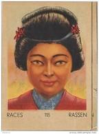 J1    JAPON   91/118  FEMME. .JAPONAISE   .ASIE  ** RACE  ETHNOGRAPHIE  ETHNOLOGIE étude Au Dos ( 5x7 Cm) - Vieux Papiers
