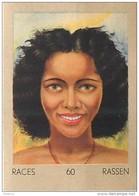 J1     OCEANIE   112/60 .FEMME  TAHITIENNE RACE MAORIS  ETHNOGRAPHIE  ETHNOLOGIE étude Au Dos ( 5x7 Cm) - Vieux Papiers