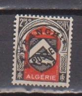 ALGERIE                N° YVERT  PREOBLITERE 15  NEUF SANS CHARNIERES     ( Nsch 01/20 ) - Algérie (1924-1962)