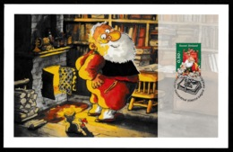 FINLAND 2005 Christmas: Promotional Postcard CANCELLED - Finland