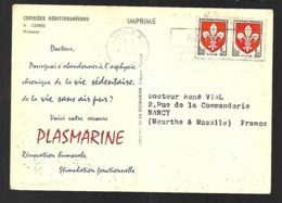 Publicité  Pharmaceutique     Plasmarine Corse Homard - Pharmacy