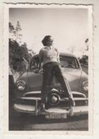Old Timer - Ste Claire (Lavandou) - 1952 - Photo 6 X 9 Cm - Automobiles