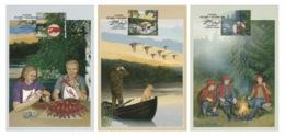 FINLAND 2010 Autumn: Set Of 3 Maximum Cards CANCELLED - Maximum Cards & Covers