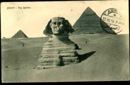 CPA EGYPTE N°103 LE SPHINX 1914 - Sphinx