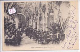 NICE- TERRASSE DU GRAND CAFE MONNOT - Cafés, Hôtels, Restaurants
