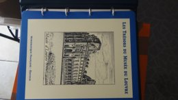 Les Trésors Du Musée Du Louvre En Blocs ** Dont 39 Pages D'explications. Complet . A Saisir !!! - Colecciones (en álbumes)