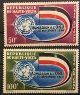UPPER VOLTA - MNH** - 1962 - #  C5/6 - Obervolta (1958-1984)