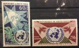 UPPER VOLTA - MNH** - 1970 - #  C84/85 - Obervolta (1958-1984)
