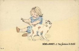 Illustrateur BEBE Et MINET  Une Fantaisie De Bébé RV - Scènes & Paysages