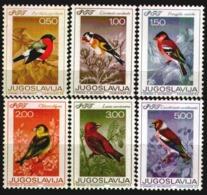 Yugoslavia 1968 ☀ Singing Birds MI 1274/79 ☀ Mint Never Hinged Set - 1945-1992 Repubblica Socialista Federale Di Jugoslavia