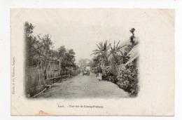 Laos - Une Rue De Luang-Prabang - Laos