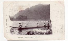 Haut - Laos - Chasse En Pirogue - Pêcheries - Laos