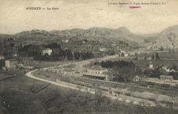 ANDUZE  La Gare RV - Anduze