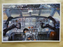 POSTE DE PILOTAGE  CARAVELLE III  F-BNKB   AIR INTER      SERIE  N° 1 MUSEE AIR INTER - 1946-....: Ere Moderne