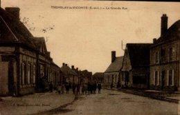 28-TREMBLAY LE VICOMTE...LA GRANDE RUE ...CPA ANIMEE - Other Municipalities