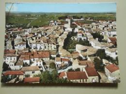 HERAULT SERVIAN VUE GENERALE AERIENNE - France