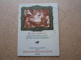 VEND CARNET DE TIMBRES CROIX ROUGE DE FRANCE N° 2011 !!! (b) - Red Cross