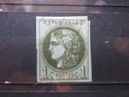 VEND TIMBRE DE FRANCE N° 39B , NEUF SANS GOMME !!! - 1870 Emission De Bordeaux