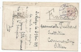POLOGNE POLSKA POLAND CARTEKRAJOBRAZ RUSSISCHE LAND + TRESOR ET POSTES 305 1919 + LODZ - Storia Postale