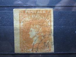 VEND TIMBRE D ' AUSTRALIE DU SUD N° 4 + BDF , FAUX !!! - Used Stamps