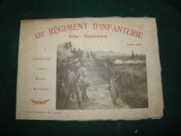 BELLAC , MAGNAC - LAVAL : 138° REGIMENT D INFANTERIE , OCTOBRE 1908 - Documents
