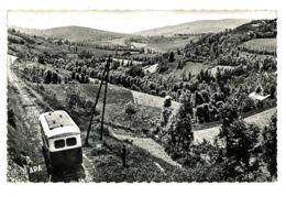 CPSM 81 LACAUNE-LES-BAINS LIGNE ET ROUTE DE LACAUNE A CASTRES - Frankreich